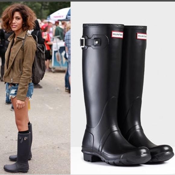 1b5ec76fb9d3 Hunter Boots Shoes - Hunter Original Tall Rain Boots ☔ 🌧